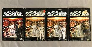 1979 MOC Buck Rogers Mego, 3 Figures + Custom