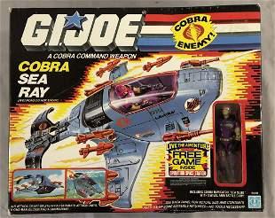 1987 MISB GI JOE Cobra Sea Ray Vehicle
