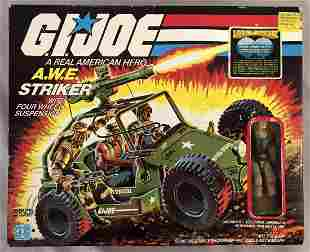 1985 MISB GI JOE A.W.E. Striker Vehicle