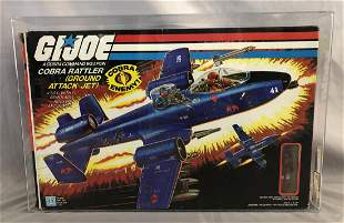 1984 GI JOE Cobra Rattler Attack Jet, AFA 70