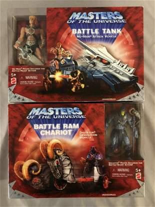 2001 MOTU Battle Tank & Battle Ram Chariot, MISB