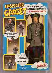 1983 NMIB Inspector Gadget Action Figure, Galoob