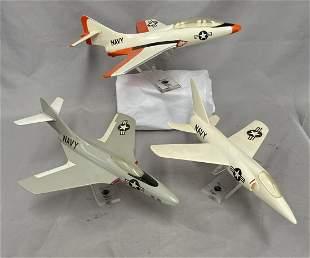 3 Grumman US Navy Desk Models