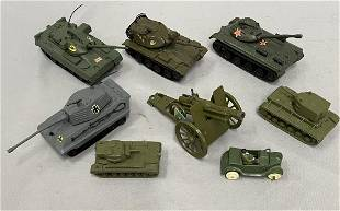 8pc Military Toys Group