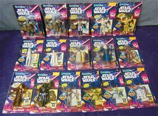16 Star Wars 1993 Bend-Ems On Card