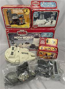 7 Pc 1982 Star Wars Micro Collection