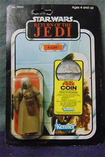 1983 Star Wars ROTJ 77 Back 4-Lom, Coin Offer