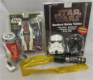 4 Vintage Star Was Electronic Toys