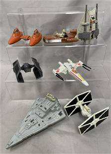 7 Star Wars Die Cast Space Ships
