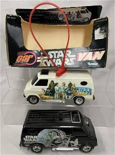 2 Star Wars 1977 SSP Vans, 1 Boxed