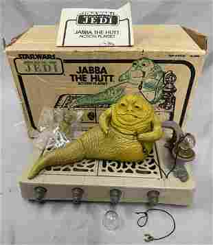 Scarce Boxed 1983 Star Wars Jabba Playset