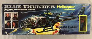 1983 Blue Thunder Helicopter & Pilot in Orig Box