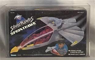 1988 Silverhawks Sprinthawk Vehicle, Kenner AFA 80