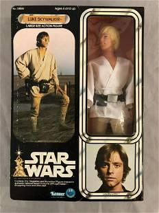"""1977 MISB Star Wars Luke Skywalker 12"""" Figure"""