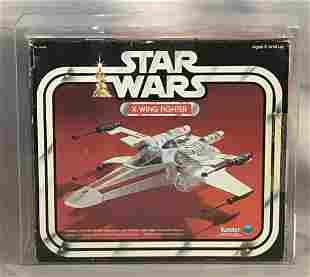 1978 Star Wars X-Wing Fighter, AFA 50 Q-VG