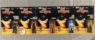 1980 MOC Legend of Lone Ranger Figure Set of 5