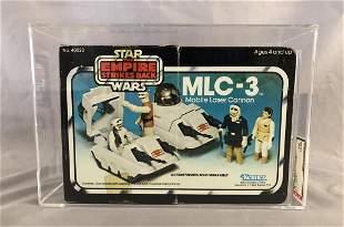 Star Wars ESB MLC-3 Mini Rig, AFA 75 EX+/NM