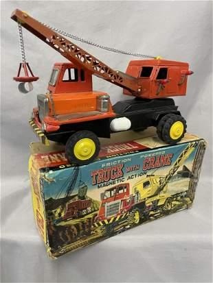 Boxed Nomura Mobile Magnetic Truck Crane