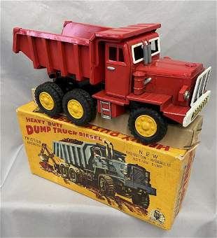 Nic Boxed Large Nomura Heavy Dump Truck