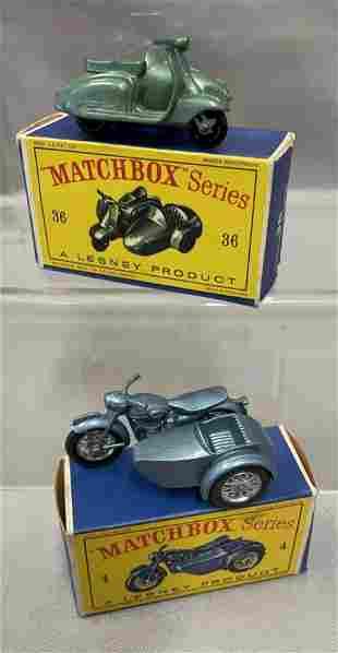Nice Boxed Matchbox 36 & 4