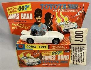 Boxed Corgi 336 James Bond 007 Toyota