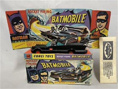 Nice Boxed Corgi 267 Batmobile