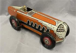 Large Marx Tin Race Car