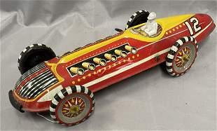 Large Marx Record Car