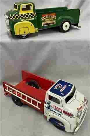 2 Wyandotte Delivery Trucks
