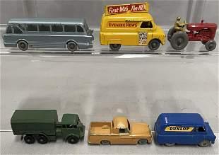 6 Early Matchbox Vehicles