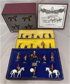 4 Boxed Modern Britains Soldier Sets