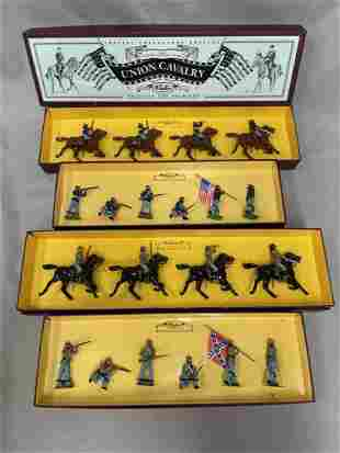 4 Boxed Modern Britains US Civil War Soldiers