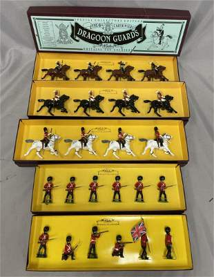 5 Boxed Modern Britains Soldier Sets