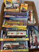 6 Boxed Matchbox King Size Vehicles, Plus