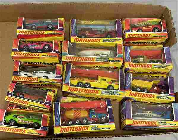 13 Boxed Matchbox 1971 Series King Size