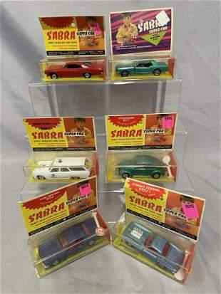 6 Boxed Sabra 1:43 Vehicles