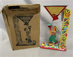 Boxed Chein 69 Hod Carrier Sand Tower