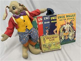Uncle Wiggily Toy & Book Group