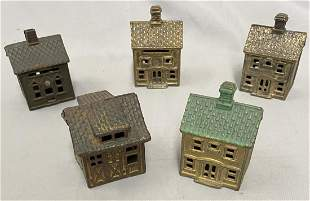 4 Houses, 1 Garage Still Banks