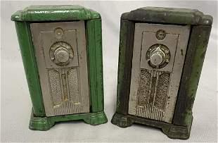 2 Kenton Upright Radio Still Banks