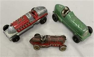 3 Hubley Racers