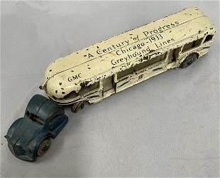 Arcade 1933 Worlds Fair Greyhound Bus