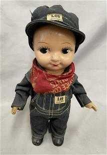 Lee Pants Advertising Buddy Lee Doll