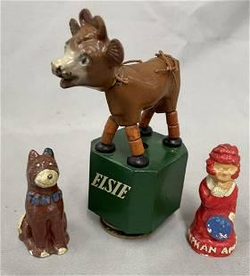 Little Orphan Annie & Elsie Toys