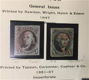 Estate Stamp Collection. As Received.