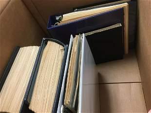 Estate Stamp Lot in Large Carton.