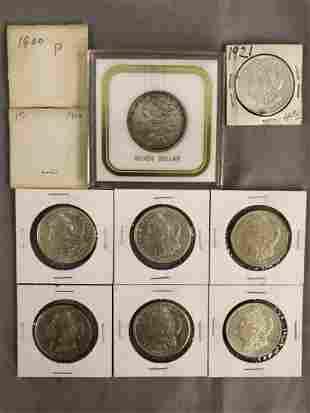 Morgan Silver Dollar Lot of (10).