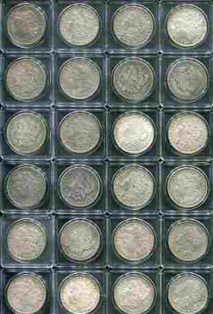 Morgan Silver Dollar Lot.