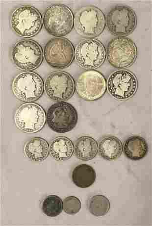Mixed Estate U.S,. Coin Lot.