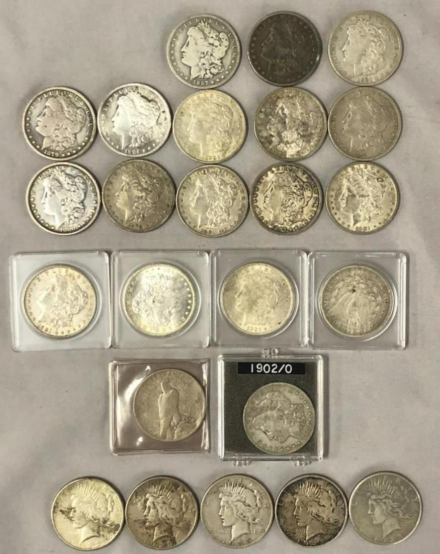 U.S. Silver Dollar Collection.